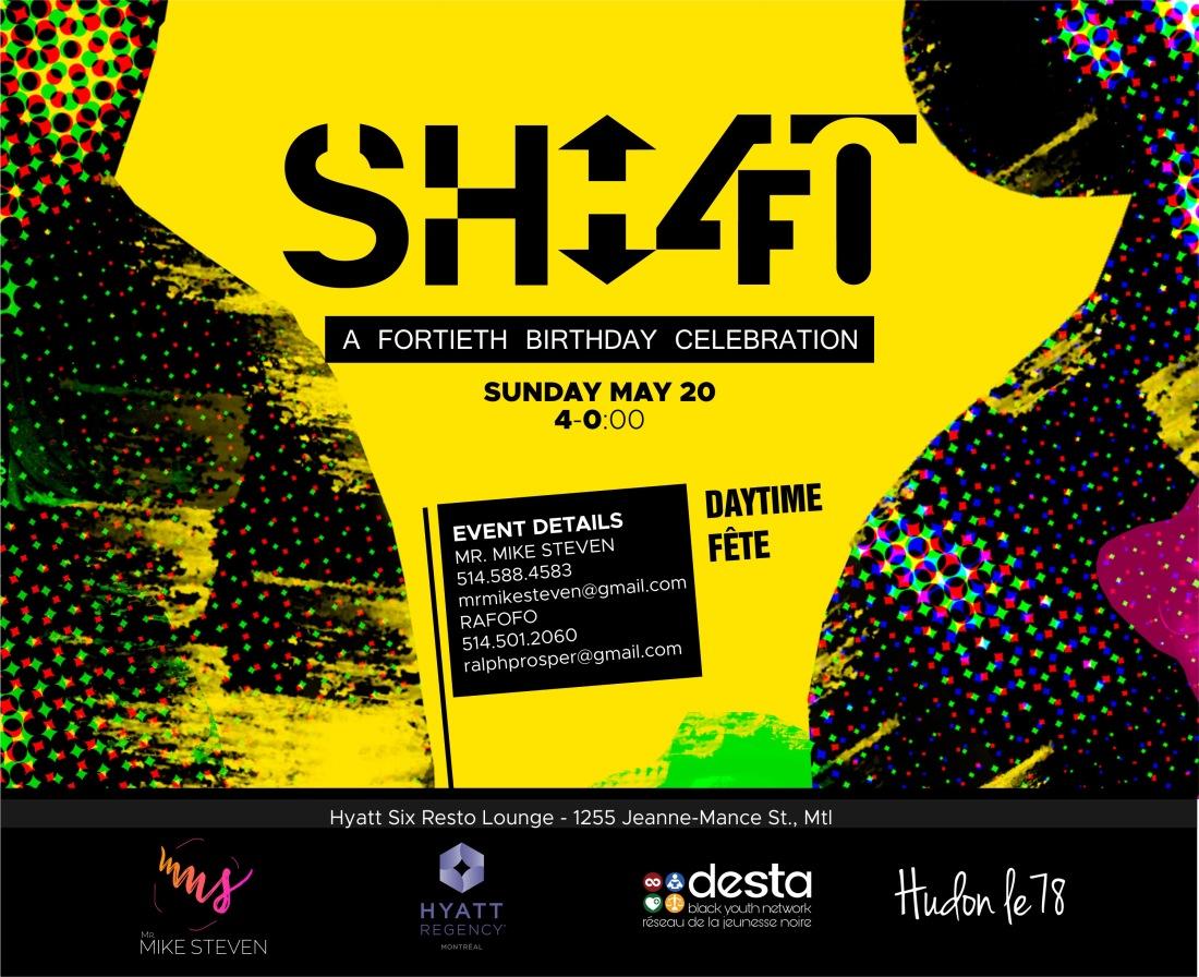 SHIFT 4.0 - Birthday Celebration
