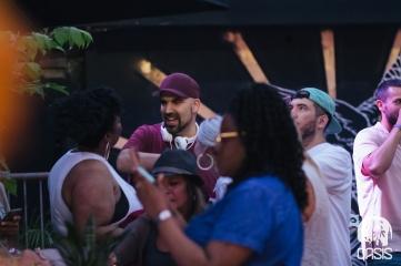 Mural Festival VIP closing party Dj Maseo De La Soul