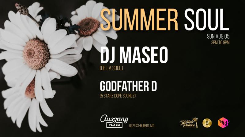 Summer Soul Maseo De La Soul Ausgang Plaza