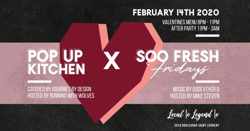 Valentines Day Local Legend Soo Fresh Fridays